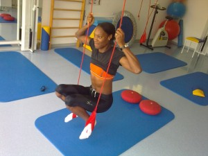 Shakeema Welsch US Amerikanische Meisterin in Dreisprung