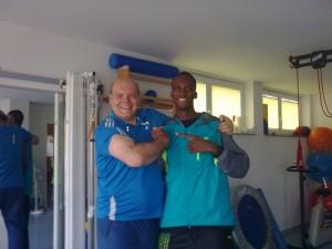 Isa Phillips Jamaikanischer Meister in 400m Hürden